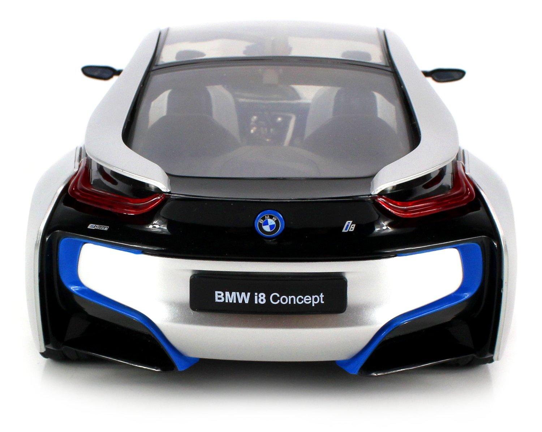 Amazon Com Licensed Bmw I8 Concept Edrive Electric Rc Car 1 14
