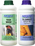Nikwax Tech Wash and TX.Direct Wash-In Twin Pack - 1000 ml