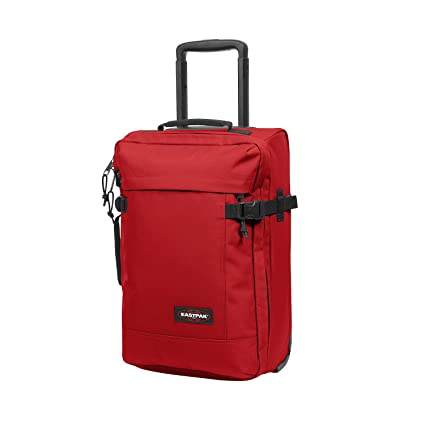 Eastpak Tranverz XS Equipaje de mano, 28.5 litros, Rojo (Apple Pick Red)