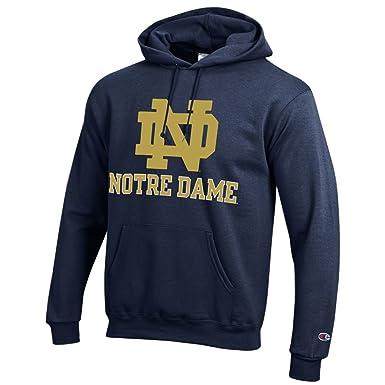 Champion NCAA Notre Dame Sudadera con Capucha: Amazon.es: Ropa y accesorios