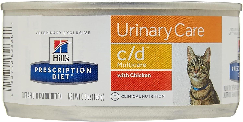 Hill'S Prescription Diet C/D Multicare Feline Bladder Health Chicken Formula - 24X5.5Oz