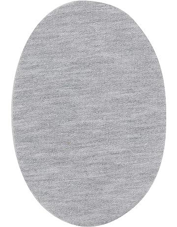 24 Toppe in Tessuto di Forma Ovale per riparazioni aoory Ferro da Stiro Cucito