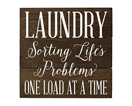 Laundry Room Decor Amazon.Laundry Sorting Life S Problems Laundry Room Decor Rustic