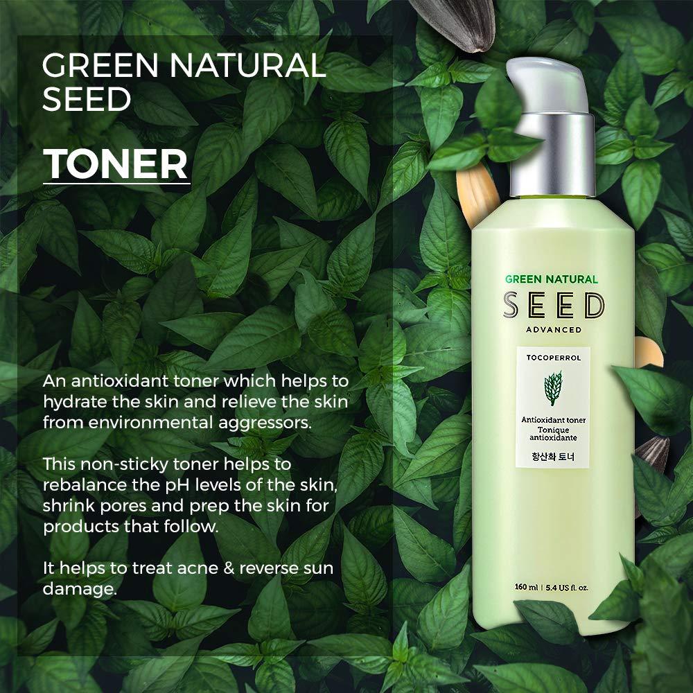 Amazon.com: THE FACE SHOP Green Natural Seed Anti Oxid Toner: Premium Beauty
