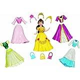 Disney  T7328 - Muñeca de Bella con vestidos y accesorios