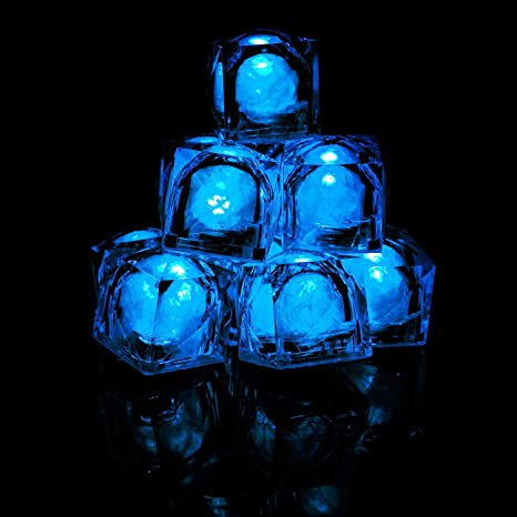 amazon com fun central ac964 12 ct led light up ice cubes light up