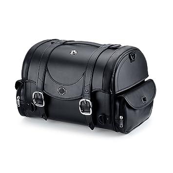 Amazon.com: Viking Century Series Leather Motorcycle Sissy Bar Bag ...