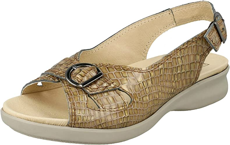 Ladies Easy B Wide Fitting Sandals