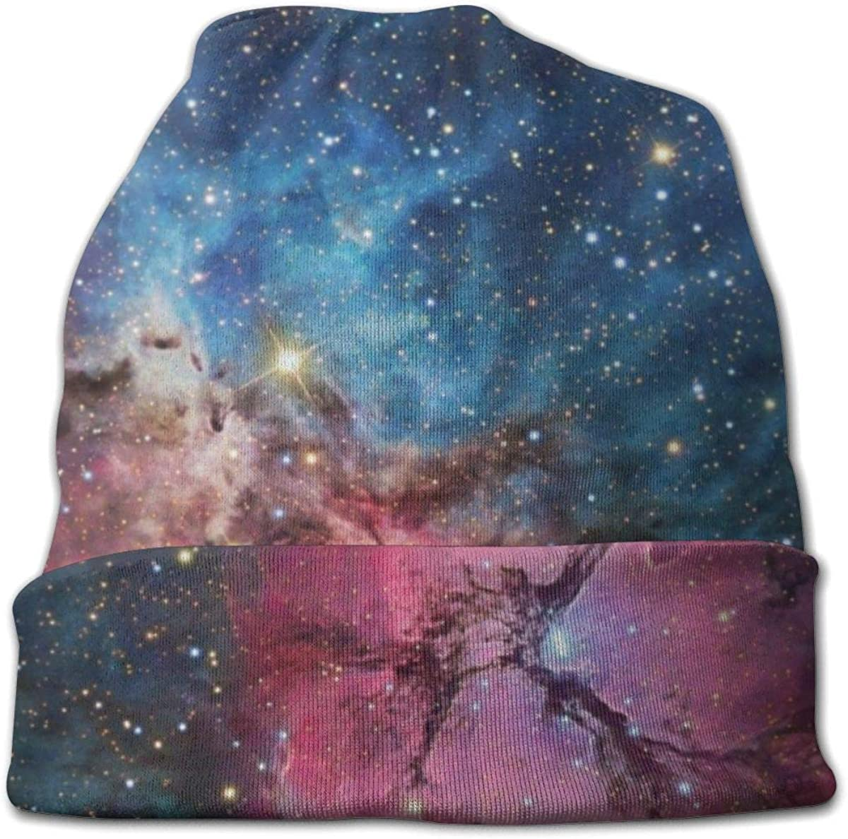 Galactic Sta-rry Sky Upgrade Fashion Hip-hop Adult Pullovers Knit Hats for Men Women New Hot Style