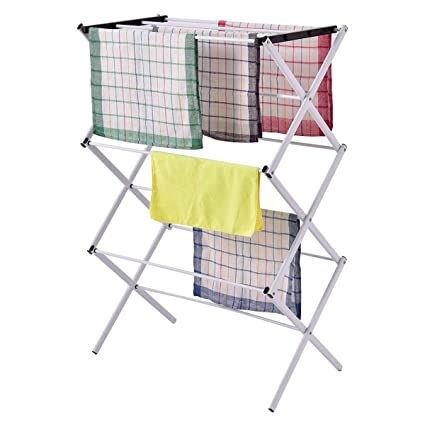 Tendedero seco toalla Soporte de longitud toallero Secadora secador de toallas Toalla estructura de metal plegable