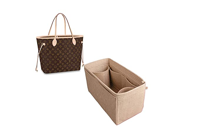 f1efa319d497 Image Unavailable. Image not available for. Color  For quot LV Neverfull pm  mm gm quot  bag insert organizer