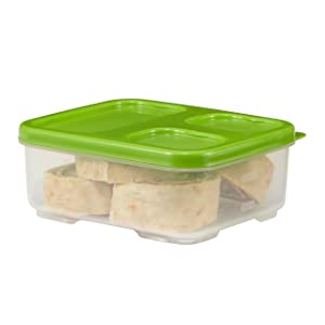 Rubbermaid LunchBlox Sandwich Container, Green 1806177