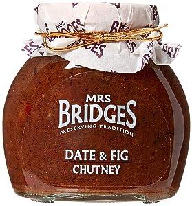 Mrs. Bridges Date and Fig Chutney, 10.4 Ounce