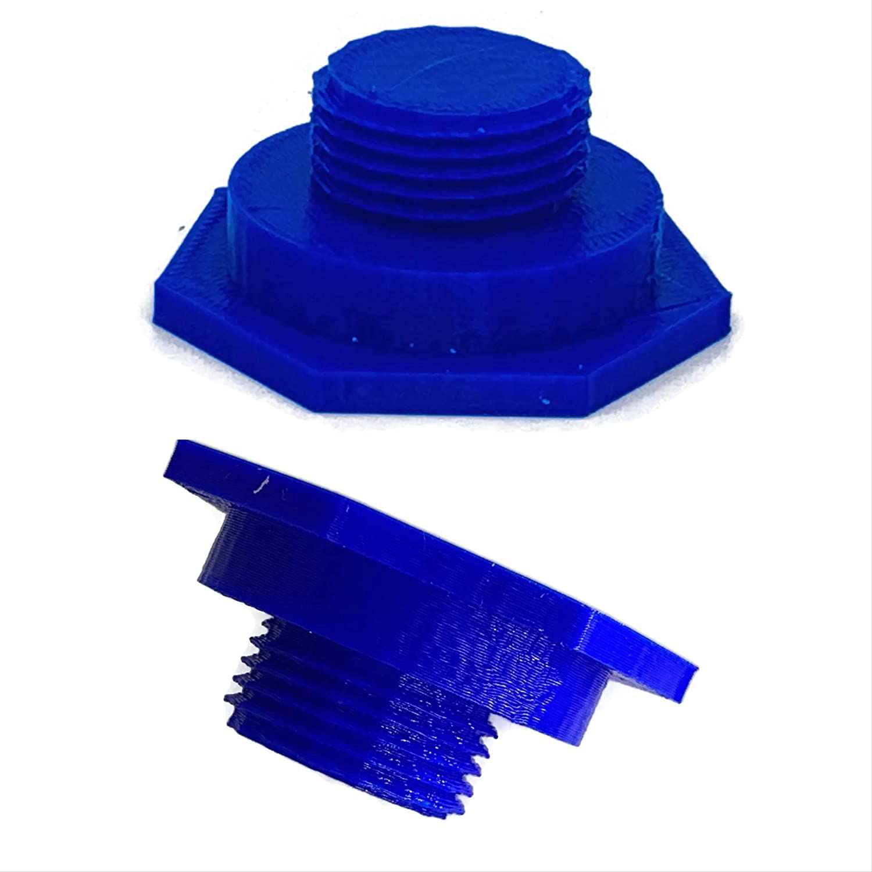 eXODA LPG gas cap with M22 thread DISH LPG gas cap blue