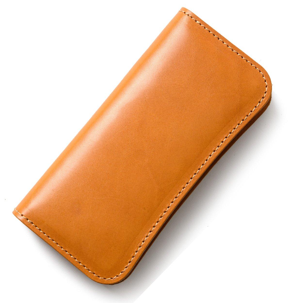(東京下町工房)長財布 メンズ財布 本革 栃木レザー ヌメ革 日本製 全6色 B07BYCPPLT イエロー イエロー