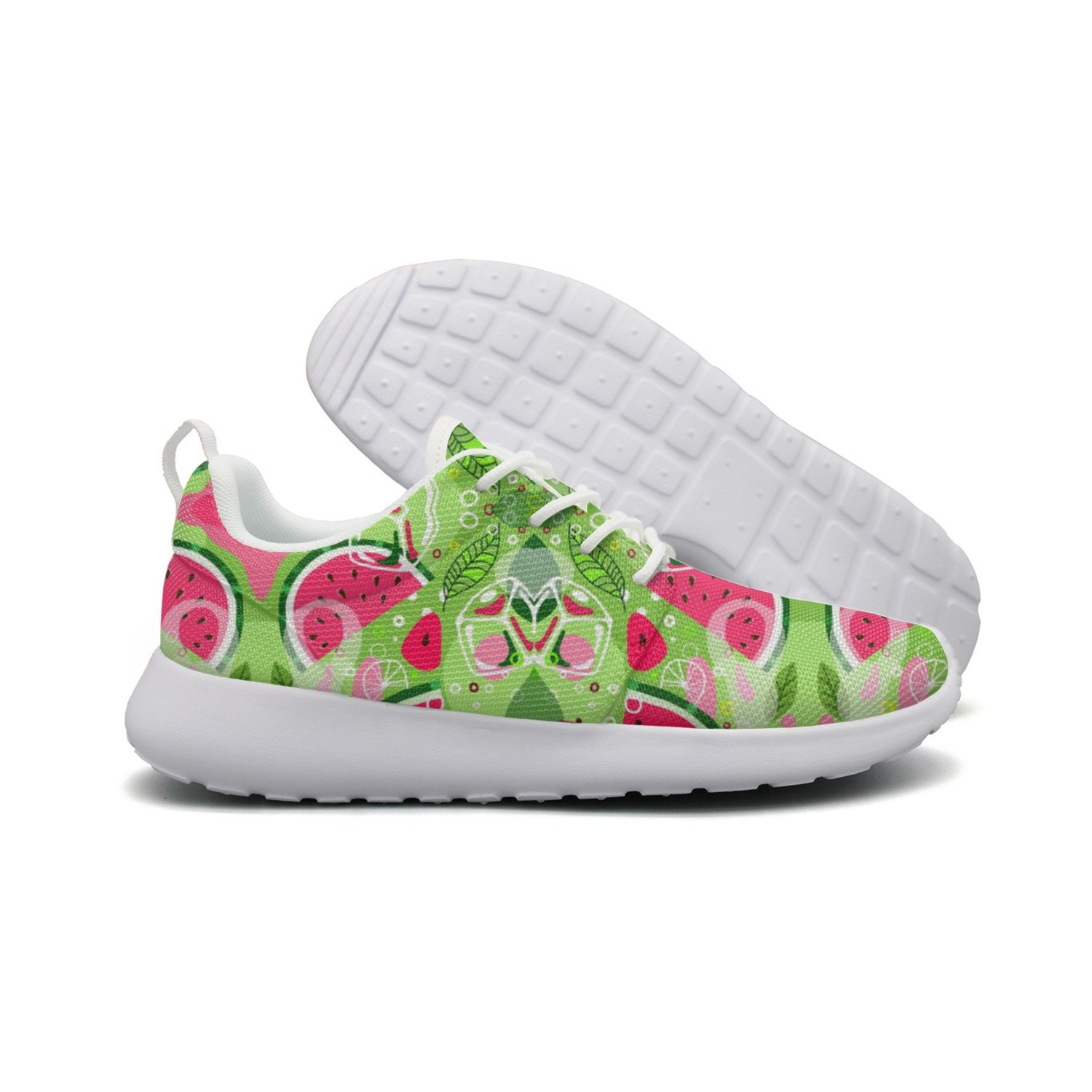 Men's Summer Ice Watermelon Running Shoes Fashion Sneakers Walking Shoes by HDIAOnaAO