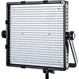 Fovitec  StudioPRO - 1x Bi Color 600 LED Panel - [Continuous][Adjustable Lighting][V-Lock Compatible][Stands Sold Separately]