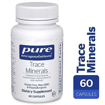 Amazon.com: Pure Encapsulations – de Oligominerales – Trace ...