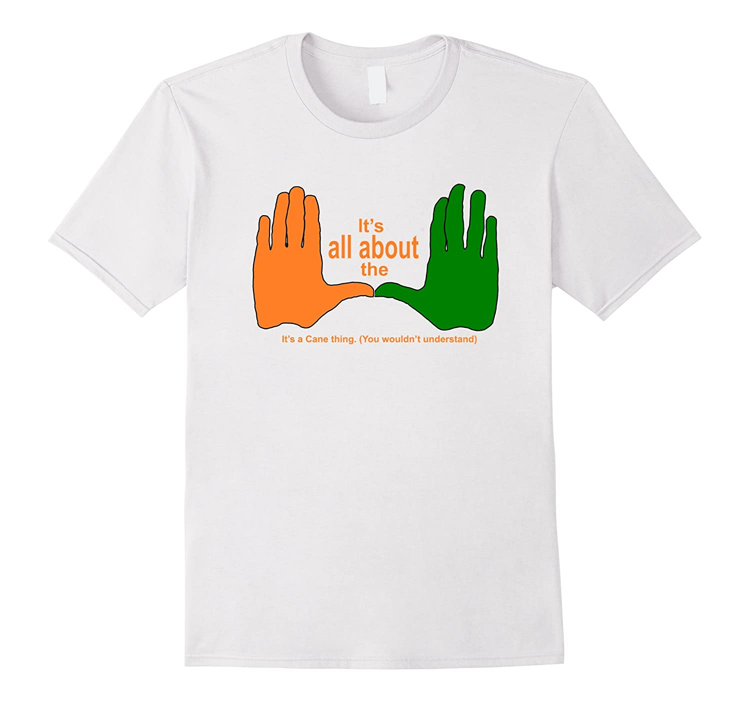 All About the U Graphic T-shirt A Cane Thing (B140)-CL