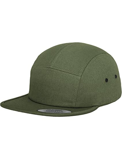 00e5e7ad Flexfit Yupoong Classic Jockey Cap olive 5 Panel Strapback Kappe One Size:  Amazon.ca: Clothing & Accessories
