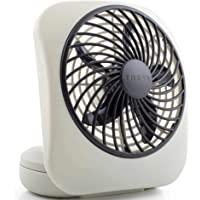 O2COOL 5 Portable Fan Battery Powered, 1 Unit, Grey