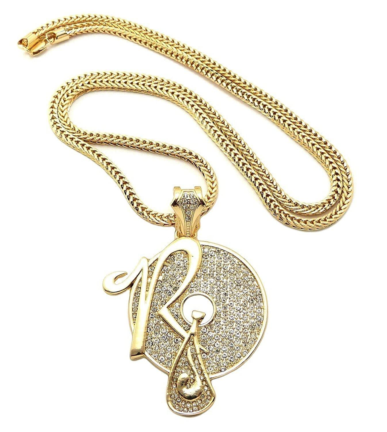 Amazon new iced out rocafella pendant 4mm36 franco chain hip amazon new iced out rocafella pendant 4mm36 franco chain hip hop necklace xp888g jewelry aloadofball Choice Image