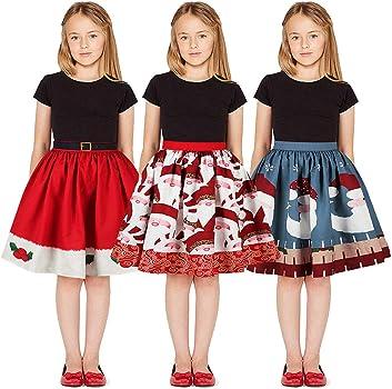 K-Youth Disfraz Falda de Fiesta Chica 8 a 12 años Disfraces de ...