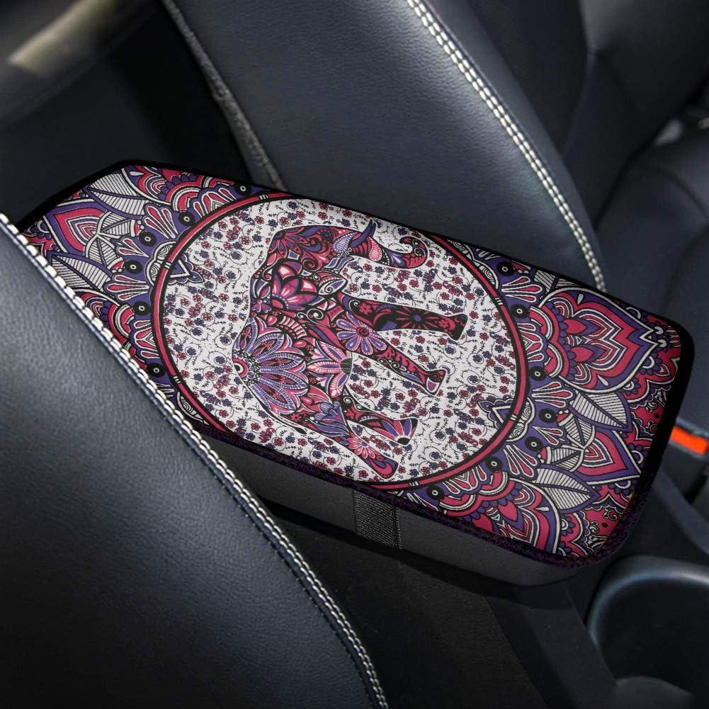 Amazon Com Aoopistc Boho Mandala Hippie Elephant Car Armrest