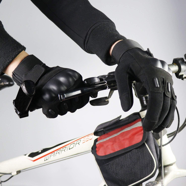 OMGAI Doigt Complet Gants Tactiques Militaires De Hommes Disque Knuckle avec Bande Scratch pour Airsoft Arm/ée Paintball Moto Sports De Plein Air