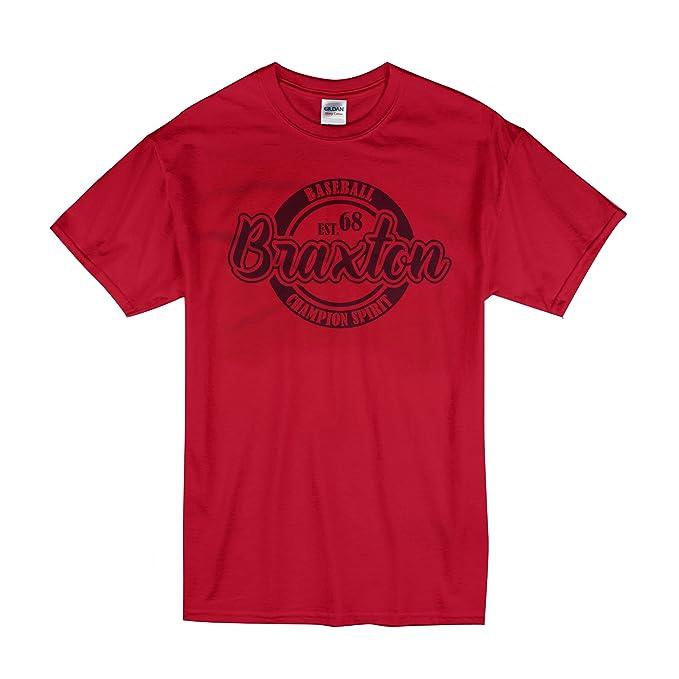 f43e5a52b80b Custom Name Baseball EST. 68 Champion Spirit - Cool Modern T-Shirt - Tees