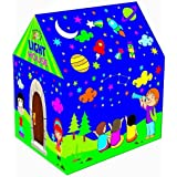 Toyboy Foldable Kids Play Tent House with Led Light - Multi