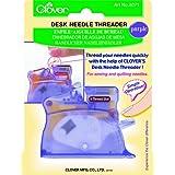 Clover Desk Needle Threader, Purple