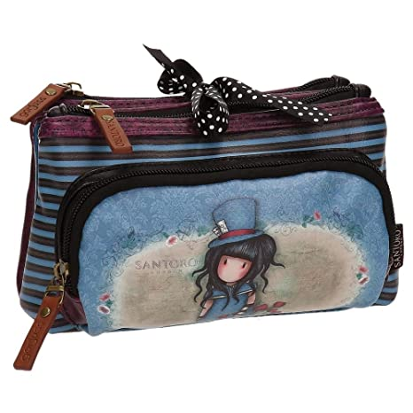 Santoro Gorjuss The Hatter Make Up Bag Bolsos Neceser Vanity ...