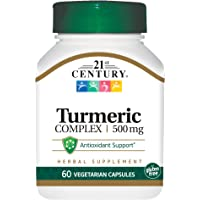 21st Century Turmeric Complex Vegetarian Capsules, 60 Count