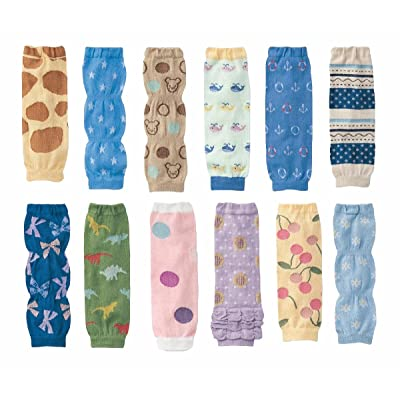12 Pack Baby Leg Warmers Knee Protectors Kneepads For 1~36 Months Baby Girls And Boys
