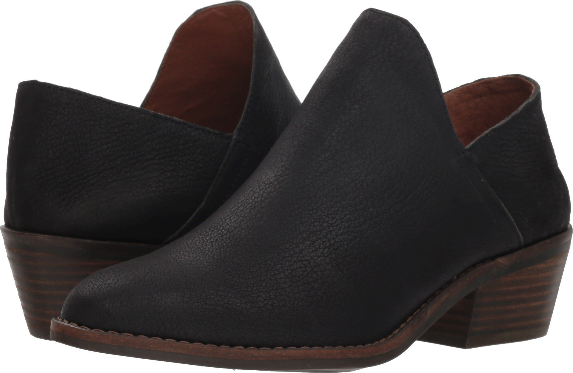 Lucky Brand Women's Fausst Ankle Boot, Black, 8 Medium US