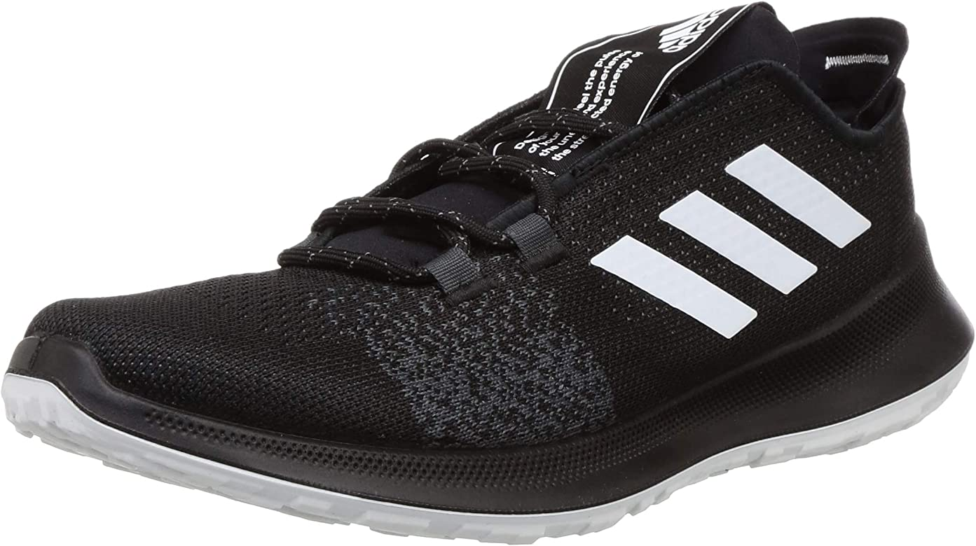 Adidas SENSEBOUNCE + Ace M, Zapatillas Running Hombre, Negro (Core Black/FTWR White/Grey Six), 40.67 EU: Amazon.es: Zapatos y complementos