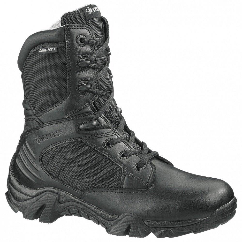 8'' Women's Bates Tactical Sport Side - zip Boots, BLACK, 5M(D) by Bates