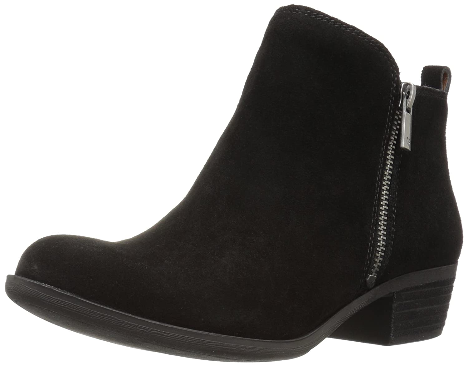 Lucky Brand Women's Basel Boot B01H2IUXG8 12 W US|Black