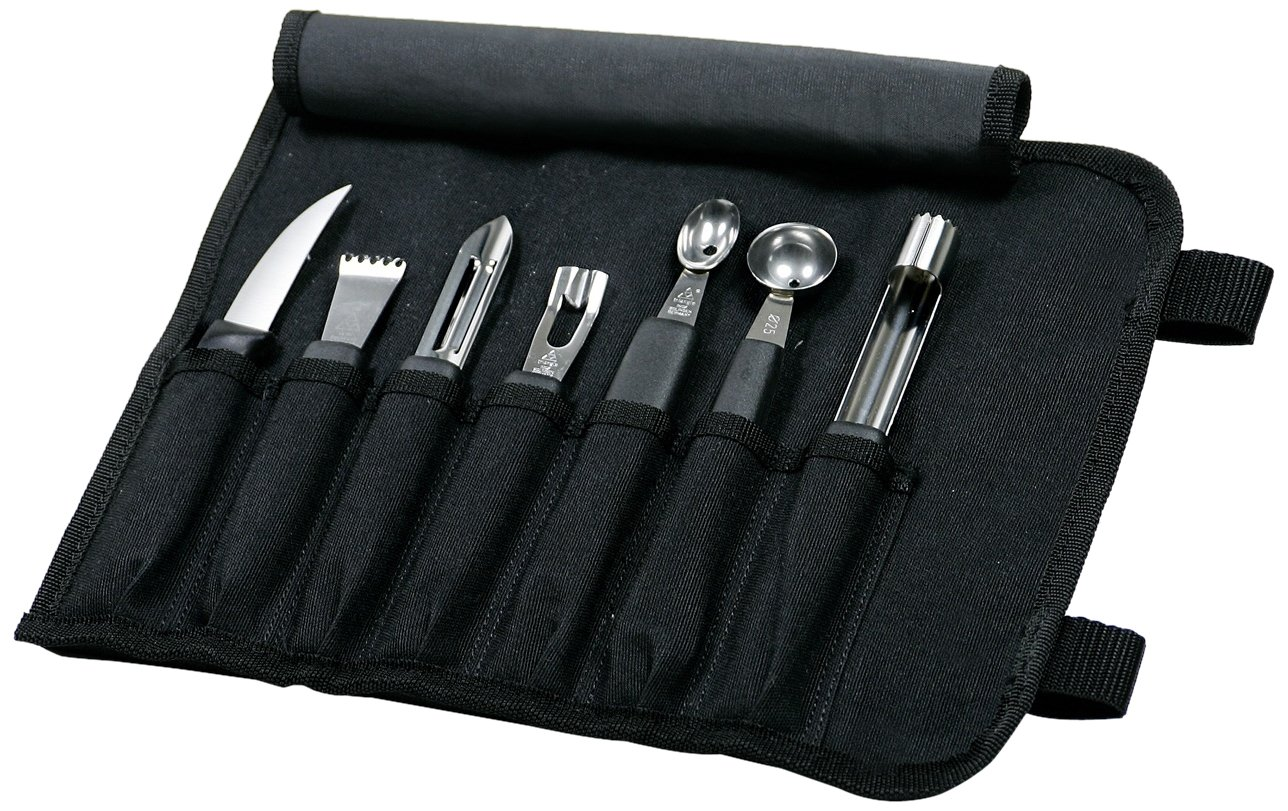 Mercer Culinary 8-Piece Garnishing Kit