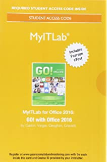 Go with office 2016 volume 1 go for office 2016 series mylab it with pearson etext access card for go with office fandeluxe Images