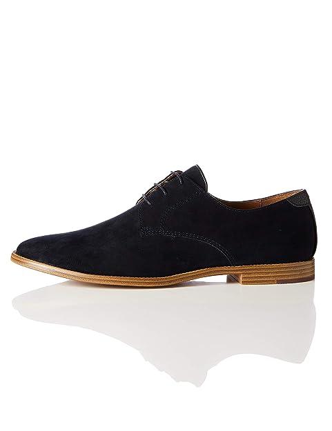 precio de fábrica f3bed 6be1e Marca Amazon - find. Zapato Clásico con Cordones para Hombre
