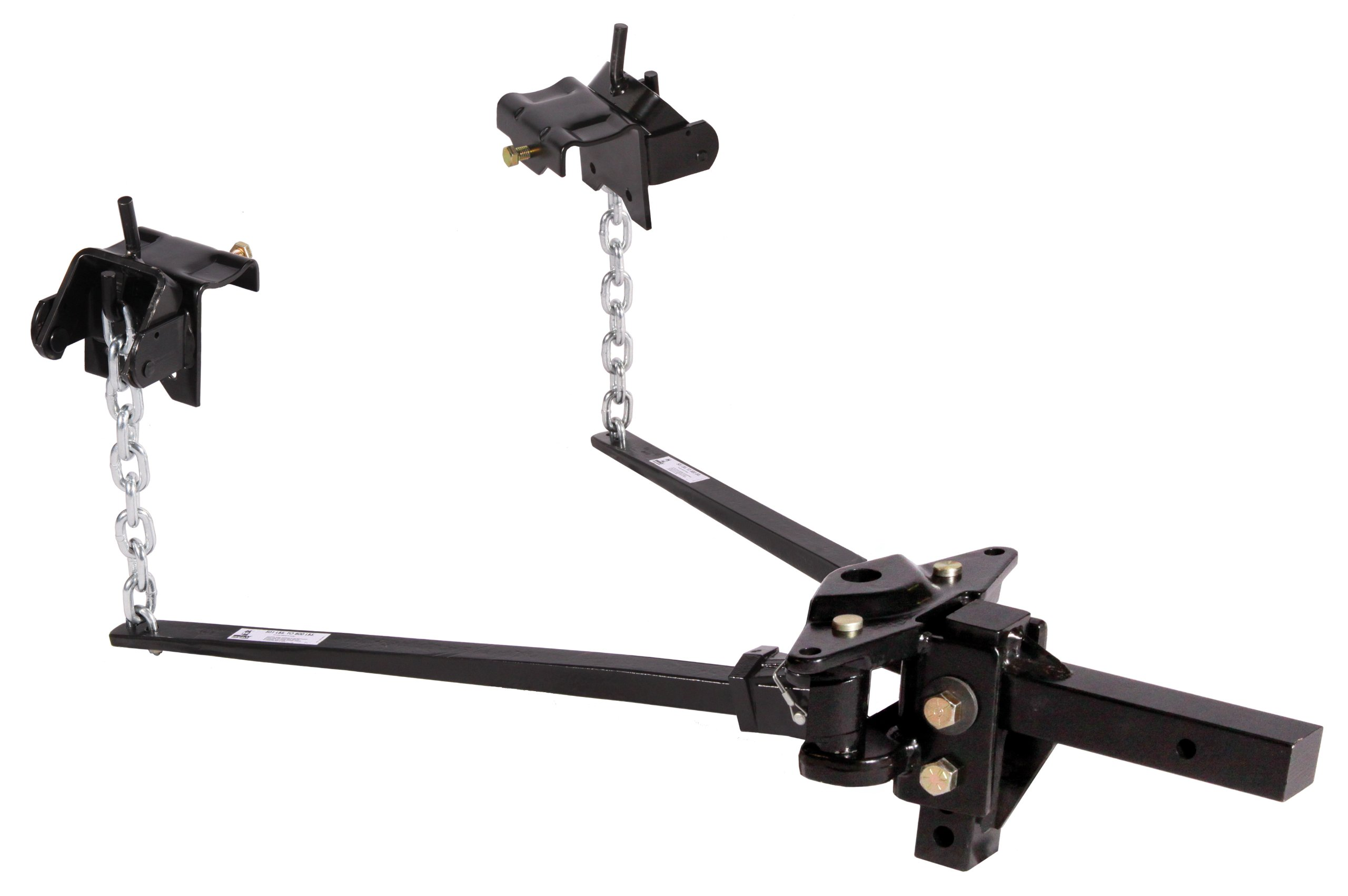 Husky 31335 Pin Trunnion Bar Weight Distribution Hitch - (801 lb. to 1200 lb. Tongue Weight Capacity) by Husky