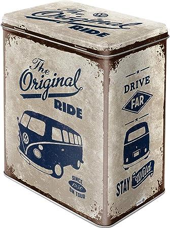 Nostalgic-Art Caja metálica de Estilo Retro - VW Bulli The ...