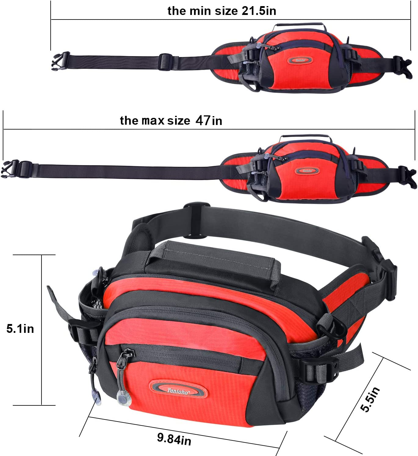 Always Stay Humble And Kind Sport Waist Pack Fanny Pack Adjustable For Hike