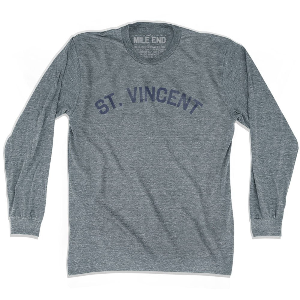 St Vincent City Vintage Long Sleeve T-shirt