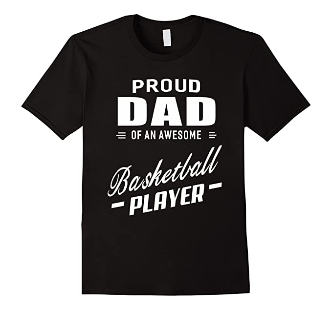 87c691275 Men's Proud Dad Of An Awesome Basketball Player T-shirt For Men 3XL Black