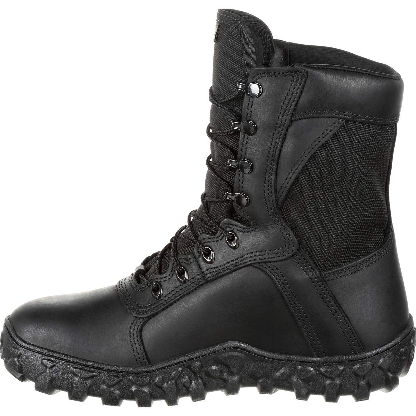Rocky Mens 8 S2V Flight 600g Insulated Gore-Tex Military Boots