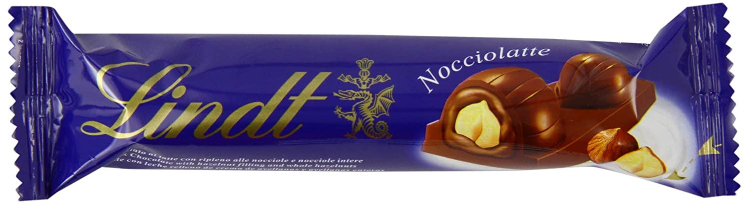 Amazon.com : Lindt Noccio Latte 40 g (Pack of 18) : Grocery & Gourmet Food