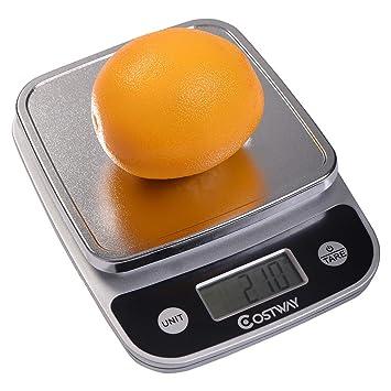 Choice Products - Báscula digital de cocina LCD de 5 kg x 1 g para dieta de alimentos: Amazon.es: Hogar